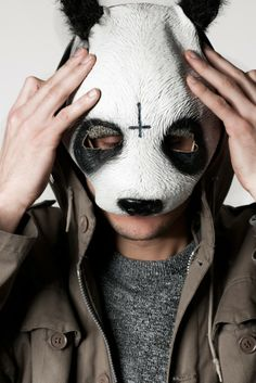 pandastyle Rapper, Halloween Face Makeup, Portrait, Panda, Music, Travelling, Wallpapers, Animal, Artist