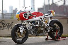 Walt Sigel Ducati 900 SS Puma Bike