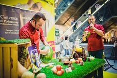 Grzegorz Gniech i Paweł Sztenderski - to właśnie oni są mistrzami w tworzeniu rzeźb z jedzenia! :) Apetyt na Manhattan!