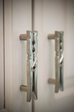 I'd want these for cabinet handles in my laundry room!