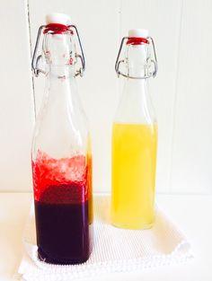 Citroen- en frambozenlimonade | Lemon- and raspberrylemonade - Heart4Cooking