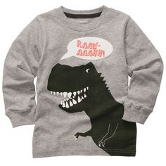 Long-Sleeve Graphic Tee | Toddler Boy Tops