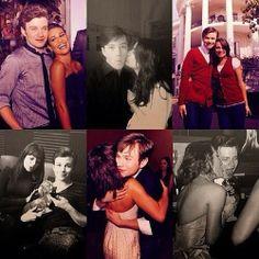 Chris Colfer and Lea Michele
