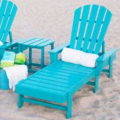 South Beach Chaise $600-$690 - made from post-consumer bottle waste, such as milk and detergent bottles