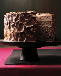 When it comes to all-American desserts, this towering chocolate cake takes…