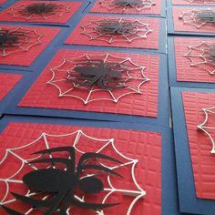 Listas nuestras invitaciones de Spiderman  #Spiderman #Invitaciones…