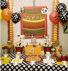 {jack's kung fu panda 4th birthday party} by www.polkadotsandpuppies.com
