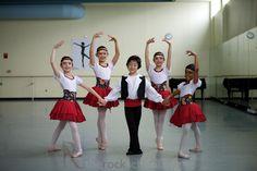 Early Dance at The Rock School for Dance Education in Philadelphia