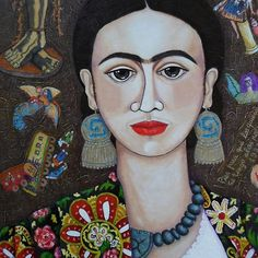 "Frida: ""Feet, what do I need you for If I have wings to fly?"""