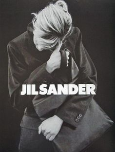 Linda Evangelista by Peter Lindbergh for Jil Sander