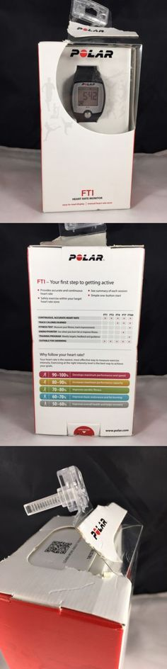 Heart Rate Monitors 15277: Polar Ft1 Heart Rate Monitor Black New Damaged Box Fitness Swimming -> BUY IT NOW ONLY: $33.99 on eBay!