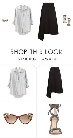 """Untitled #2803"" by amberelb ❤ liked on Polyvore featuring Maison Rabih Kayrouz, Gucci and Gianvito Rossi"