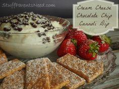 #shop cream cheese chocolate chip cannoli dip