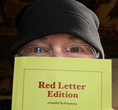 My kjv New Testament RED LETTER EDITION. for people and family and friends.