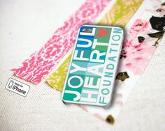 Joyful Heart Foundation  iPhone 5 5S 5C iPhone 4 by EmporiumLounge, $12.99