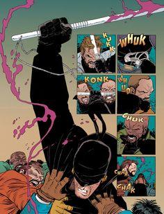 Mais algumas pistas sobre o uniforme do Demolidor ~ Universo Marvel 616