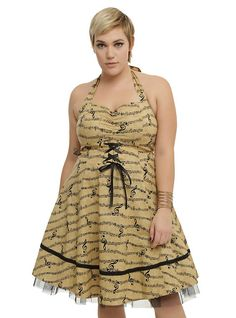 Music Note Dress Plus Size,