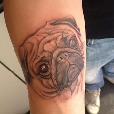 1000 images about pug tattoos on pinterest pug tattoo pug and the pug. Black Bedroom Furniture Sets. Home Design Ideas