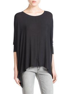 T-shirt fluide oversize