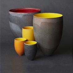 Pippin Drysdale; Glazed Ceramic Vessels, 2011.