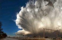 Texas Hailstorm Explosion