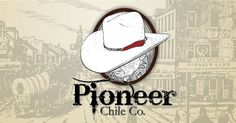 Pioneer Chile Co. Pioneer Chile, Austin Tx, San Antonio, Label