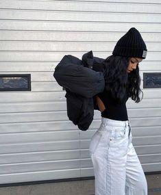Tomboy Fashion, Look Fashion, Streetwear Fashion, Mode Outfits, Girl Outfits, Fashion Outfits, Amanda Khamkaew, Poses Photo, Girl Photography Poses
