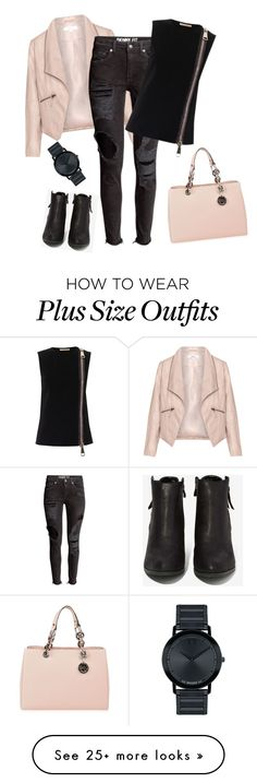 """""""outfit3378"""" by natalyag on Polyvore featuring MICHAEL Michael Kors, Zizzi, N.Y.L.A., Christopher Kane, Movado, women's clothing, women, female, woman and misses"""