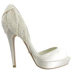 Bride shoes by Menbur