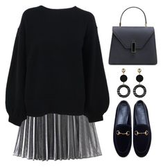 """""""Street Style"""" by simona-altobelli ❤ liked on Polyvore featuring Helmut Lang and Gucci"""