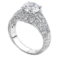 www.diamondconnectiononline.com Call today to order 6192968900 #EngagementRing by: #BeverlyK Style: R755(A)-D,D,CZ Wedding Ring Bands, Engagement Rings, Jewelry, Style, Rings For Engagement, Wedding Rings, Jewlery, Jewels, Commitment Rings