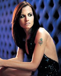 "Dolores O'Riordan,former lead singer for "" The Cranberries."""