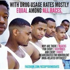 The war of drugs did not deter crime its just an excuse to imprison African-Americans in jail. #ElementaryGenocide