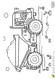 Coloriage camion et chantier transport graviers Farm Coloring Pages, Coloring Pages For Boys, Free Coloring, Coloring Sheets, Coloring Books, Art Drawings For Kids, Animal Drawings, Art For Kids, Picture Puzzles