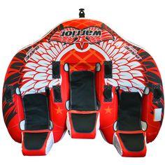 Rave Warrior 3™ Towable - 3-Rider - https://www.boatpartsforless.com/shop/rave-warrior-3-towable-3-rider/