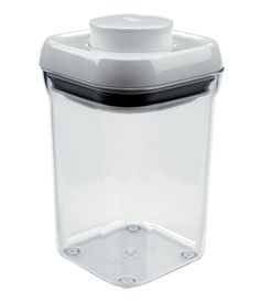 This OXO Good Grips Pop Container Small Square - Short is on offer for only You will find the OXO Good Grips Pop Container Small Square - Short, code in Kitchen Aids: Easy Open Food Containers at Complete Care Shop. Pantry Organisation, Kitchen Organization, Kitchen Storage, Floor Finishes, Food Storage Containers, Glass Containers, Bar, Good Grips, Computer