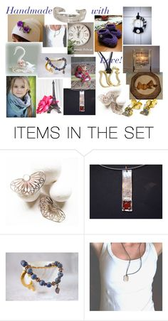 """Handmade with love!"" by stavrosdragatakis ❤ liked on Polyvore featuring art and dragatakisjewelry"