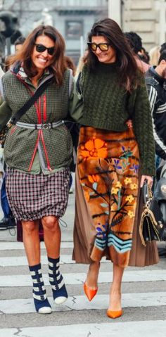 Street Style, Giovanna Engelbert, Tommy Ton, Milan Fashion Week, MFW... - Street Style