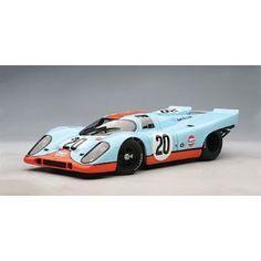 AUTOart 1:18 Die-Cast Porsche 917K Le Mans 1971 Steve McQueen Version 87183 (Toy)
