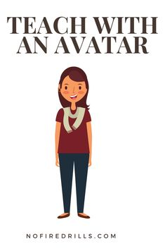 Have you taught with an avatar? Here is a great way how to do it especially on Parent Teacher Conference!!! nofiredrills.com
