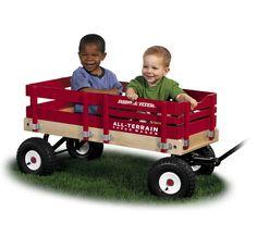 Beach Wagon: Heavy Duty All-Terain Cargo Wagon | Radio Flyer