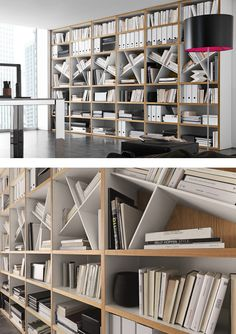 Open wall-mounted sectional #bookcase COMP 302 by Presotto Industrie Mobili | #design Pierangelo Sciuto @presottoitalia