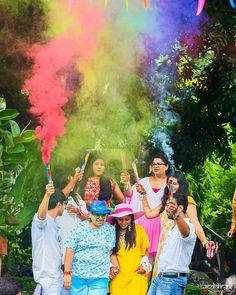 A colorful photoshoot!A colorful photoshoot! A colorful photoshoot! Fun Ways to use Smoke Bombs in your Wedding + Happy & Colourful Photo Ideas! Indian Wedding Planning, Wedding Planning Websites, Grandparent Photo, Wedding Bride, Wedding Happy, Wedding Blog, Wedding Photography Poses, Fun To Be One, Wedding Vendors