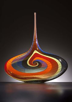 Schantz Galleries features fine art glass sculpture by contemporary artists such as Dale Chihuly and Lino Tagliapietra. Visit our glass art gallery and view art glass sculptures by world renowned artists. Blown Glass Art, Glass Artwork, Sea Glass Art, Stained Glass Art, Glass Vase, Glass Ceramic, Mosaic Glass, Fused Glass, History Of Glass