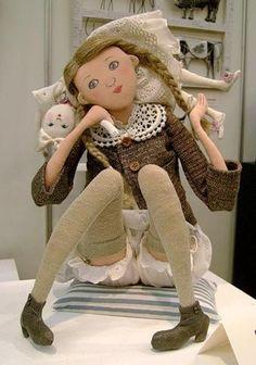 Шарнирная кукла: как сделать игрушку 5