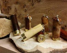 Key ring keep safe shotgun cartridge key ring dinner gift corporate give away party bag shooting day gift