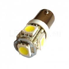 T4W-233-BA9s LED Car Bulb 5-SMD - LED Auto Lights | LEDchoice.eu
