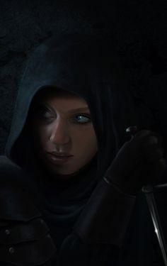 DnD Female Assassin by GerdElise