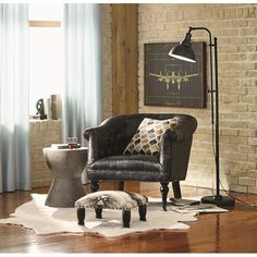 Features:  -Restoration design.  -Heavy weighted base for stability.  Base Finish: -Aged Dark Zinc.  Distressed: -Yes.  Material: -Metal, Copper.  Shade Material: -Metal.  Hardware Finish: -Aged Dark