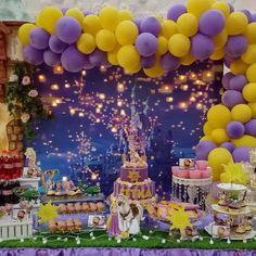 Fitka Sweet Seventeen 😊😊 Thank you for trust 😘 All decor By Nuri yuliani . Chat me for detail 083824076154 . ❤ Your Happiness is my priority ❤ Rapunzel Birthday Party, Tangled Party, Disney Princess Birthday, 4th Birthday Parties, Tinkerbell Party, 3rd Birthday, Birthday Party Centerpieces, Birthday Decorations, Disney Parks